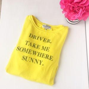 Pre-Loved Wildfox Somewhere Sunny Sweater